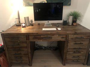 Living Spaces Modern Rustic Desk for Sale in Scottsdale, AZ