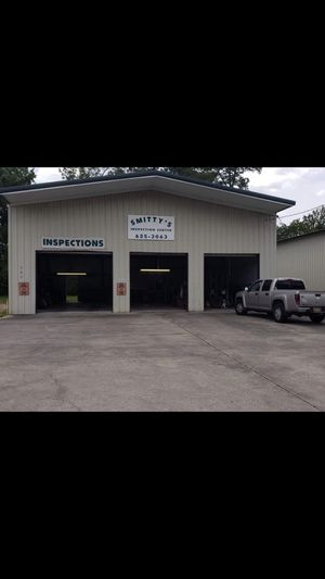 "SMITTY""S INSP , STILL OPEN FOR BIZ MONDAY - FRIDAY!! SHOP & BUSINESS & REAL-ESTATE FOR SALE by owner 40 X 45 X 18 STATE INSPECTION AND TIRE SH for Sale in Sulphur, LA"