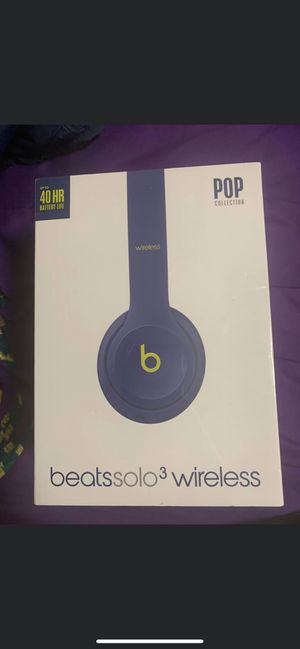Beats solo 3 Wireless for Sale in Pittsburgh, PA