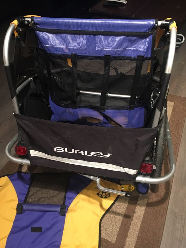 BURLEY D'Lite Bike Trailer Like New OBO 1-Kid