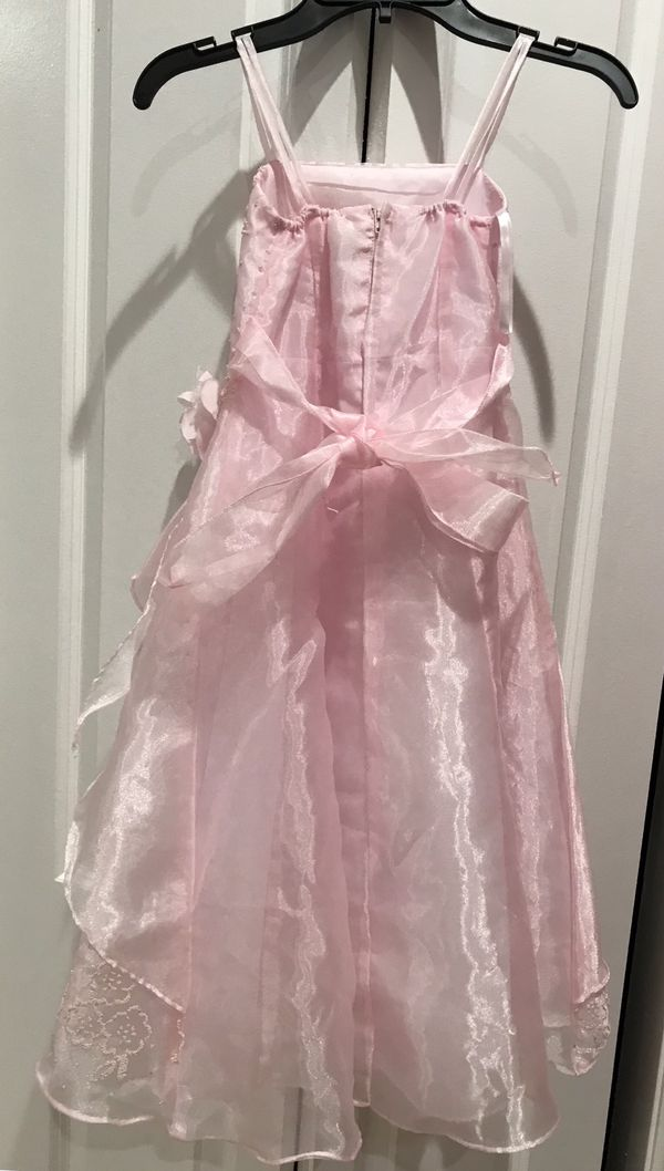 Little girl special occasion/flower girl pink dress size 6