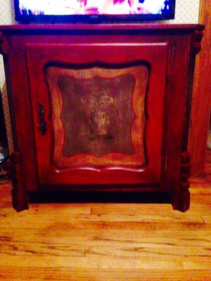 Entry Stand / TV Media Stand with Storage Shevles for Sale in Cleveland, OH