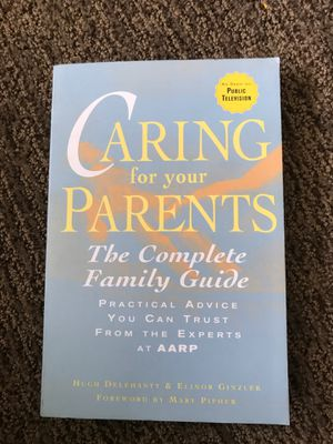 Caring for parents book family guide elderly Alzheimer's for Sale in Mission Viejo, CA