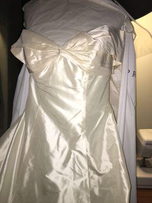 Priscilla of Boston Silk Taffeta Wedding Dress for Sale in Dallas, TX