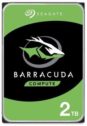 Seagate BarraCuda 2TB Internal Hard Drive HDD – 3.5 Inch SATA 6Gb/s 7200 RPM 256MB Cache 3.5-Inch for Sale in El Paso, TX