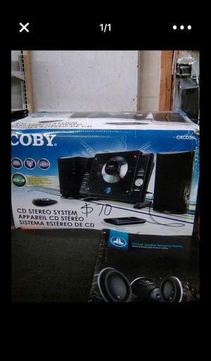 Coby stereo system for Sale in Philadelphia, PA