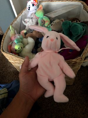 "rare ""hoppity"" beanie babie for Sale in Lake Elsinore, CA"