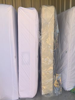 Two Queen Size Mattresses and Box Springs for Sale in Raleigh,  NC