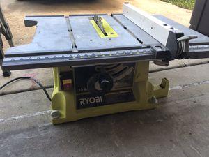 Ryobi table saw for Sale in New Port Richey, FL