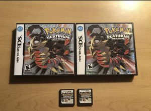 Authentic Pokémon platinum (LOT OF 2) for Sale in Wichita, KS