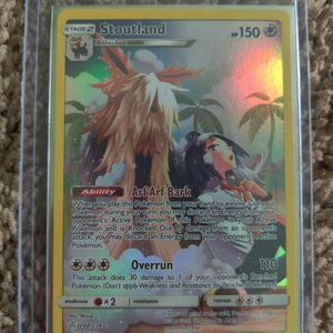 248/236 Stoutland Secret Rare Holo Pokemon Card for Sale in Locust Grove, GA