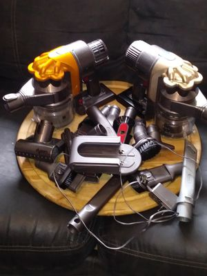 2-DYSON VACUUMS. BOTH POWER ON !! for Sale in Tacoma, WA