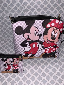 Mickey And Minnie Purse Bundle for Sale in Moreno Valley,  CA