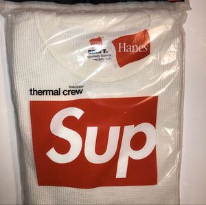 Supreme x Hanes Thermal size medium. New in package. for Sale in Las Vegas, NV