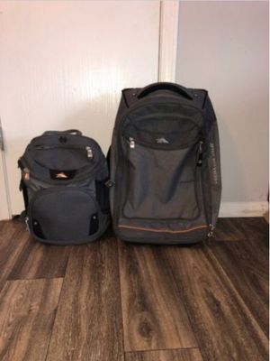 """High Sierra Cermak 21"""" Carry-On Spinner Softside Carry Including Small Backpack for Sale in Columbus, OH"""