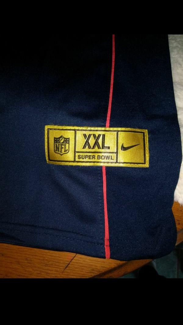 Tom Brady Super Bowl gold limited edition Jersey