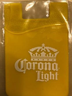 Corona Light Cerveza Beer Adhesive Card Holder For Cell Phone for Sale in Bolingbrook,  IL