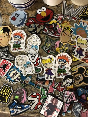 Patches 10$ each message for custom patches for Sale in San Diego, CA