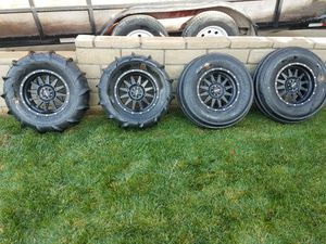 POLARIS RZR PADDLES / METHOD WHEELS for Sale in Fontana, CA