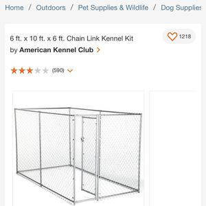 New Dog kennel with roof for Sale in Gresham, OR