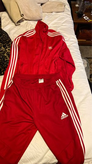 Red Adidas sweatsuit for sale for Sale in Los Angeles, CA