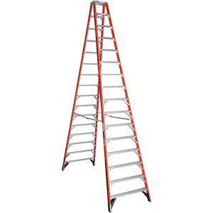 Werner fiberglass 16' step ladder for Sale in Seattle, WA