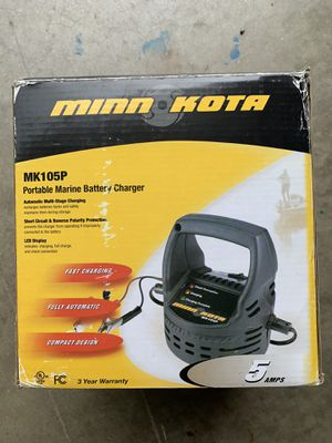 Minnkota Portable Battety Charger for Sale in Mount Airy, MD