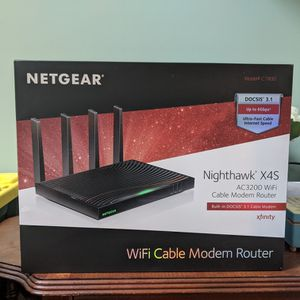 BRAND NEW Nighthawk X4S Modem for Sale in Sheffield, OH