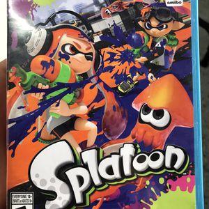 Nintendo Wii U Splatoon (EXCELLENT CONDITION ) for Sale in Wheaton, IL