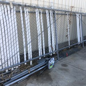 Chain Link Fence/gate About 16 Feet for Sale in Fresno, CA