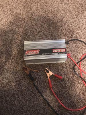 Coleman 800 W 1600 watt peak Power Inverter for Sale in Nashville, TN