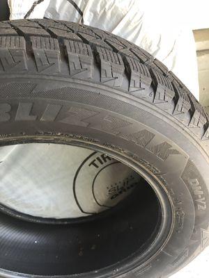 225/60R17 Bridgestone blizzak tires (full set) for Sale in Cleveland, OH