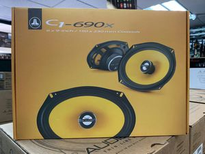 JL Audio C1 6x9 speakers on sale today message us for the best deals in LA today for Sale in Downey, CA