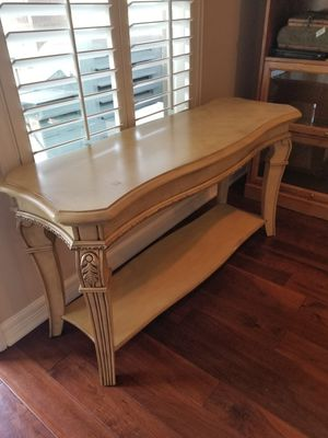 Gorgeous entry way / console table (dimensions included) for Sale in Austin, TX
