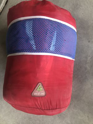 Red Greatland sleeping bag for Sale in Golden, CO