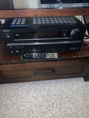 Onkyo TX-NR7 A/V Home Theater Surround Sound Receiver and Remote for Sale in Alexandria, VA