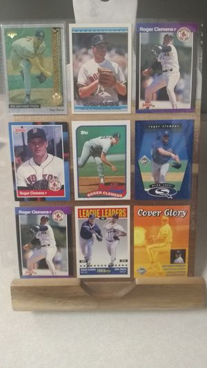 (Lot RC1) 9 Roger Clemens Baseball Cards for Sale in Nashville, TN