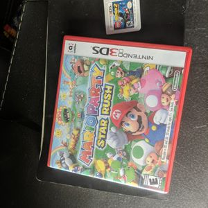 Mario Party Star Rush Nintendo 3ds With Batman Lego 2 Game for Sale in Phoenix, AZ