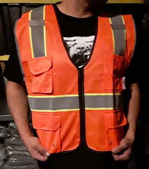 Safety Visibility vest $10 for Sale in Fontana, CA