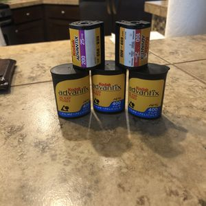5 Rolls Of Various APS Film for Sale in Hillsboro, OR