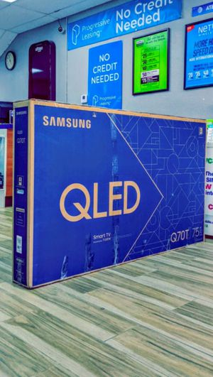 Samsung 75 inch Class - QLED Q70T Series - 4K UHD TV - Smart - LED - with HDR! Brand New in Box! One Year Warranty! for Sale in Arlington, TX