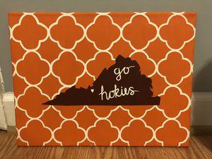 Go Hokies canvas painting! for Sale in Arlington, VA