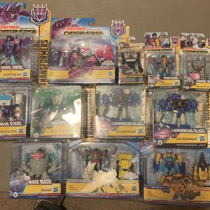 Transformers Cyberverse Lot for Sale in Puyallup, WA