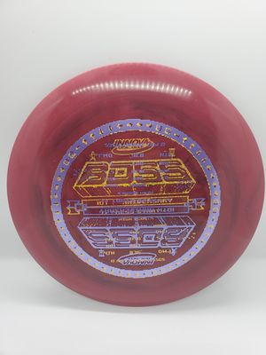 Innova 10 Year Anniversary Star Boss Swirly Double Stamp Disc Golf Frisbee for Sale in San Diego, CA