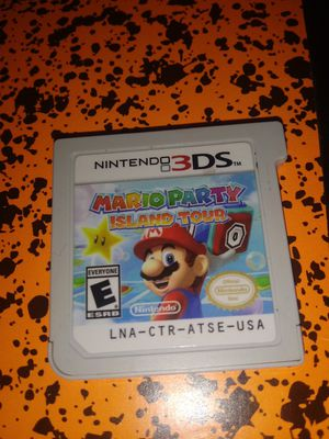 Mario party for 3ds for Sale in Mansfield, TX