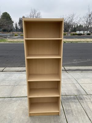 Bookcase/Bookshelf Tall and Slim for Sale in Clovis, CA