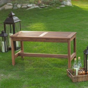 Wood Backyard Bench Outdoor Seat Backless Yard Patio Furniture Modern Contemporary for Sale in Chicago, IL