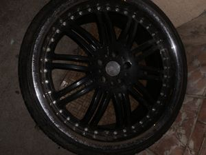 22s kmcs. only 3 rims for Sale in Los Angeles, CA