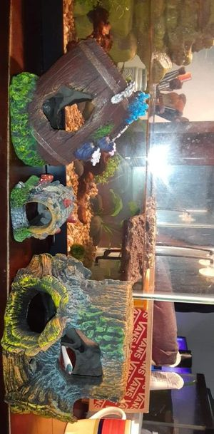 Decor and fish tank for Sale in San Diego, CA