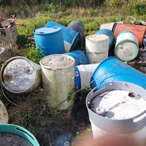 30-55 Gal Barrels for Sale in Winter Haven, FL